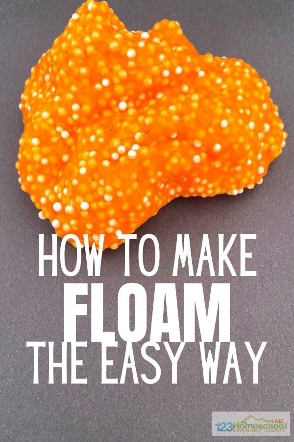 diy floam