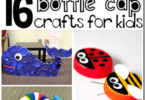 Bottle Lid Crafts for Kids