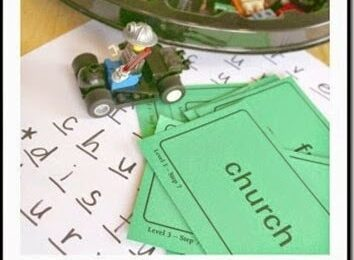 Lego Mini Figure Spelling Game
