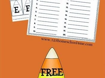 FREE Halloween Create A Word Spelling Worksheets
