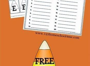 FREE Halloween Create A Word Spelling Worksheets