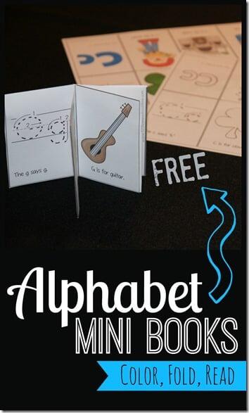 FREE Alphabet Mini Books