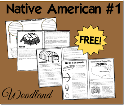 Native American Woodland Tribes Lesson | 123 Homeschool 4 Me