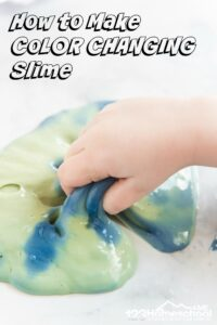 how to make color changing slime