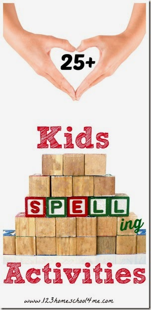 25 hands on spelling activities that work with any spelling words