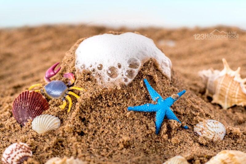 sand activities for kids