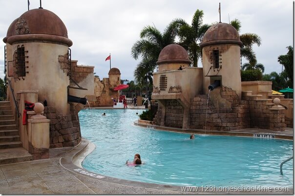 Disney World Hotel Pools are Amazing
