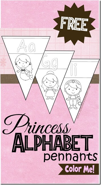 Disney Princess Alphabet Wall Cards 123 Homeschool 4 Me
