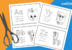 abc colouring worksheets
