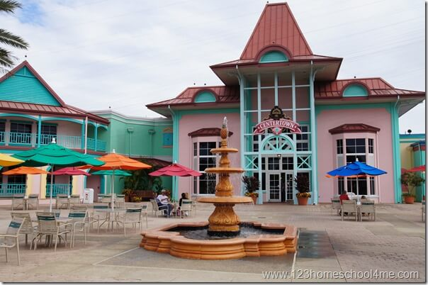 caribbean beach resort hub
