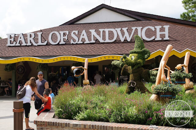 earl of sandwich at disney springs