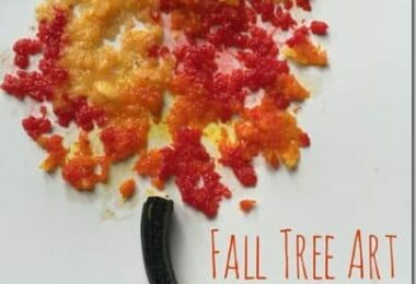 Pumpkin Painting Fall Tree Art