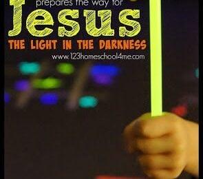 Jesus Light in the Darkness