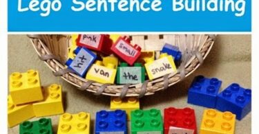Build a Sentence with Lego