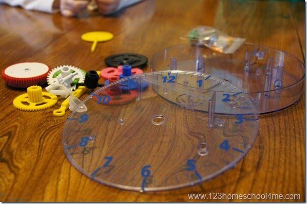 gears handson activities for kids