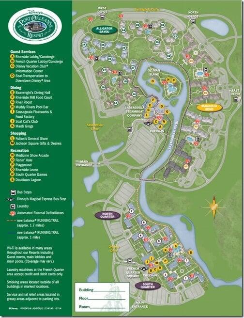 port orleans map