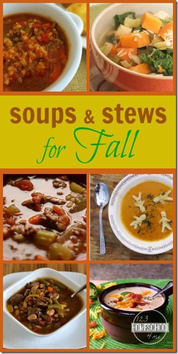 25 soup recipes for fall = so many delicious recipes you will love for fall!