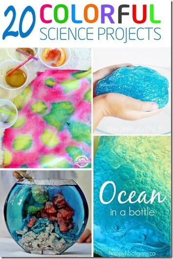 20 Colorful Science Projects