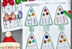 Kids will love practicing addition and subtraction during December with super cute, free printable Christmas fact families. Simply download the pdf file with these Christmas Math Worksheets to help first grade, 2nd grade, and 3rd grade students sneak in some fun Christmas Math to make learning fun during the holidays.