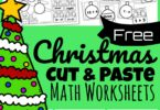 Sneak in some fun Christmas Math into your December with these free printable Christmas Math Worksheets. These super cute cut and paste Christmas Worksheets are sure to keep kids engaged and make learning fun as second grade, 3rd grade, 4th grade, 5th grade, and 6th grade students practicing solving addition, subtraction, multiplication, and division problems to decorate the Christmas trees.