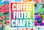 Grab some coffee filters and get ready to make some super cute coffee filter crafts. We have over 50 of the best coffee filter art projects for toddler, preschool, pre-k, kindergarten, first grade, 2nd grade, and 3rd graders to make. From coffee filter flowers to a stunning coffee filter flowers, a coffee filter turkey to coffee filter Christmas crafts we have lots of clever ideas for crafts using coffee filters.
