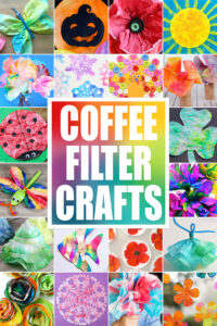 Grab some coffee filters and get ready to make some super cute coffee filter crafts. We have over 50 of the bestcoffee filter art projects for toddler, preschool, pre-k, kindergarten, first grade, 2nd grade, and 3rd graders to make. Fromcoffee filter flowers to a stunningcoffee filter flowers, acoffee filter turkeytocoffee filter Christmas crafts we have lots of clever ideas forcrafts using coffee filters.