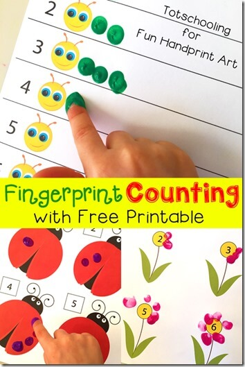 Fingerprint Counting Activities