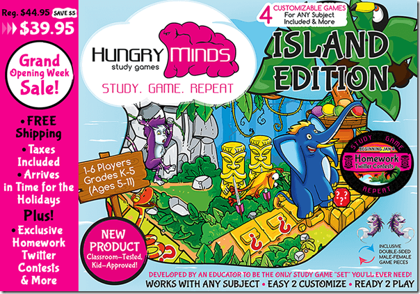 Hungry Minds Study Games Promo Code
