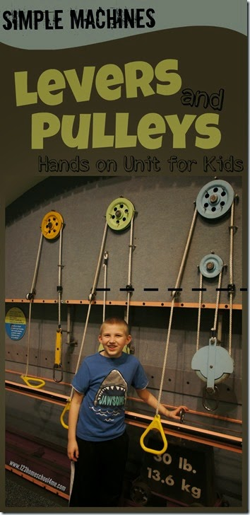 Levers and Pulleys Lesson - Kids will have fun learning about these simple machines with these hands on activities with lots of science experiments #simplemachines #science #kidsactivities