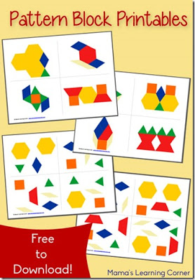 FREE Shape Pattern Worksheets | 123 Homeschool 4 Me