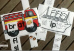 Blends Transportation Word Family Sliders