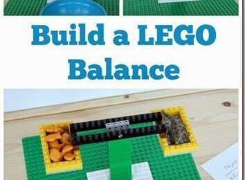 LEGO Balance Math Activity