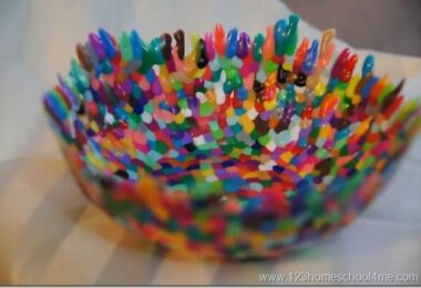 Colorful Bowl Craft for Kids