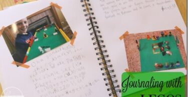 Journaling with LEGO