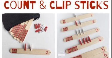 Count and Clip Sticks
