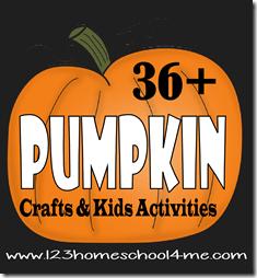 36 Pumpking Crafts and Kids Activities for Halloween