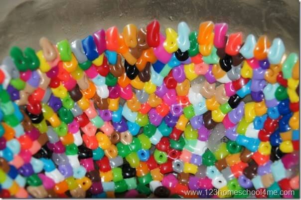 metled perler beads