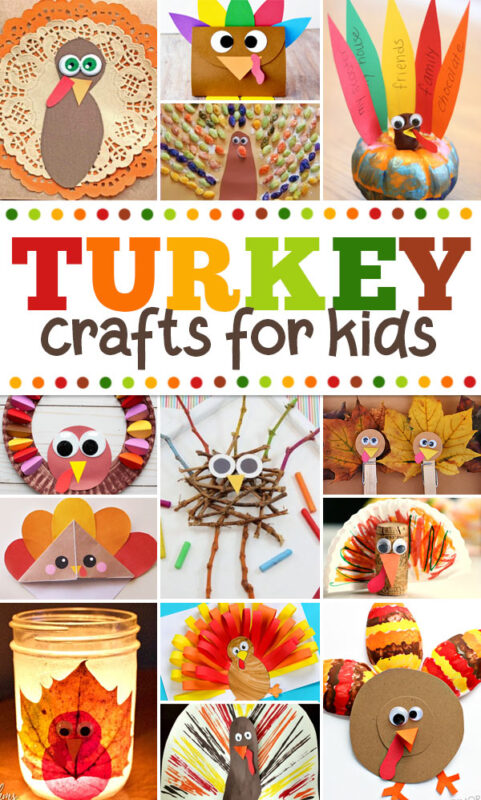 Tired of seeing the same old Turkey Crafts everywhere? Here are 50 creative, unique, and amazing turkey crafts for kids that will surely make for a fun day crafting and a great keepsake. Perfect thanksgiving craft for kids of all ages from toddler, preschool, pre k, kindergarten, first grade, and 2nd grade students.