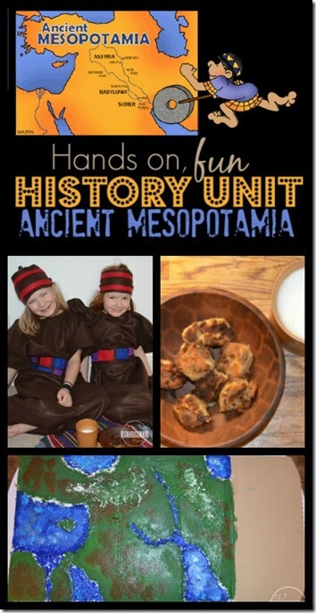 Help your students get excited about learning history with this fun, hands on history lessons for kids of all ages. Your kids will have fun with this AncientMesopotamiancivilization for kids that uses the Epic of Gilgamesh, fun hands-on activities, and more in this 3 part unit. This is a fun homeschool history lesson for kindergarten, first grade, 2nd grade, 3rd grade, 4th grade, 5th grade, and 6th grade students.