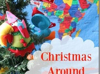 Christmas Around the World Crafts - explore Christmas around the world for kids in China, Philipines, England, Mexico, Germany, and Sweeden with these super cute and fun to make christmas crafts for kids #christmasaroundtheworld #christmascrafts #christmas