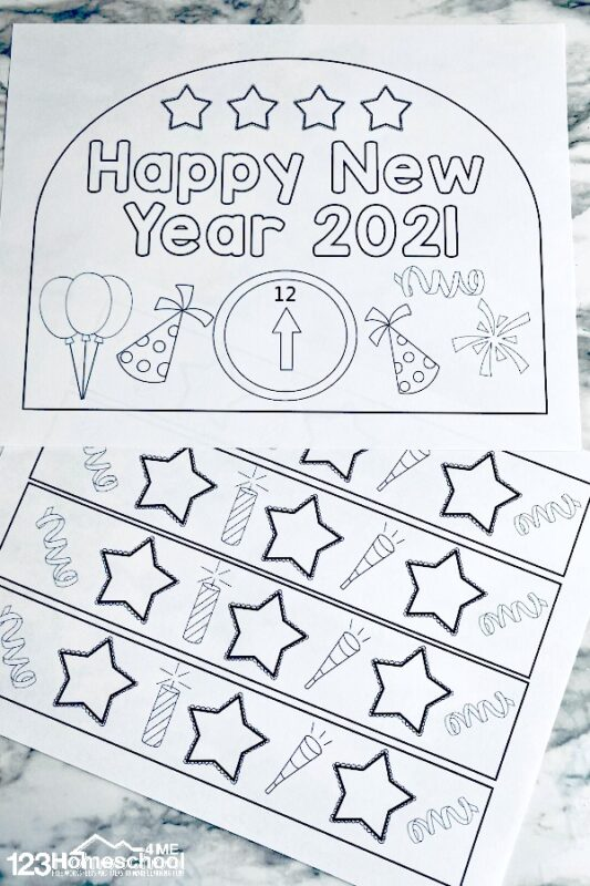 free New Years Printables
