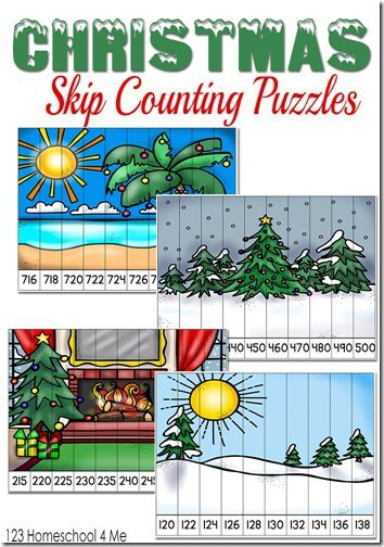 Christmas Counting Games