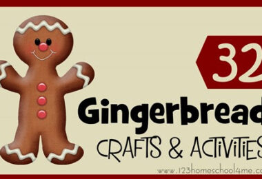 Gingerbread Crafts and Kids Activities