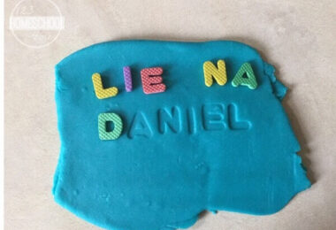 Name Recognition with Playdough Imprints