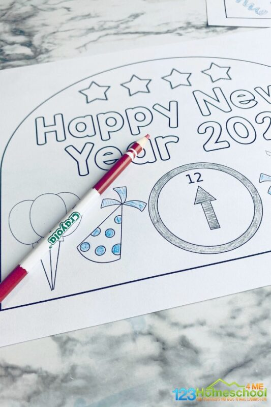 new year's crafts for preschoolers