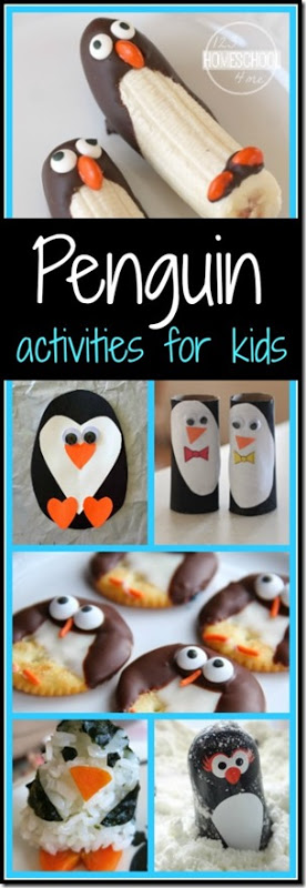 penguin awareness day - penguin crafts, penguin activities, penguins snacks for kids