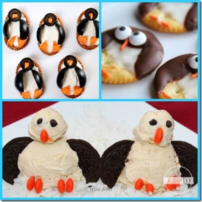 penguin snacks