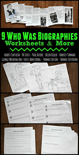 who-was-worksheets-albert-einstein-dr-seuss-paul-revere-helen-keller-harriet-tubman-george-washington-louis-armstrong-thomas-edison-thomas-jefferson