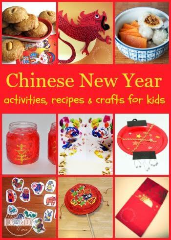 Chinese New Year - Help kids learn about China and their customs with these fun Chinese New Year activities and Chinese New Year crafts and recipes. (kids activities, homeschool, geography)