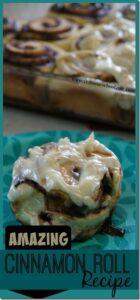 Amazing Cinnamon Roll Recipe just like cinnabon